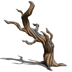 dry tree 3D