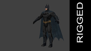 heroes rigged 3D