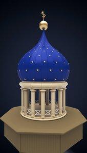3D colt armory dome