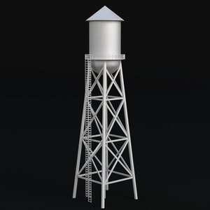 water tower 2 3D