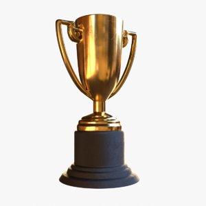 3D model trophy blender