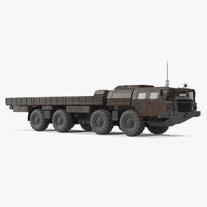 3D model maz 7310 offroad 8x8