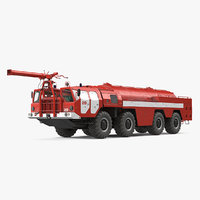 MAZ AA 60 Airport Fire Fighting Vehicle