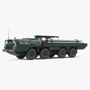 3D 9t234 smerch transporter loader