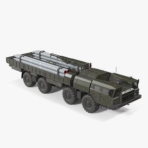3D model tzm 9t234 2 transloader