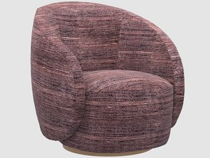 3D wetherly swivel chair stroke model
