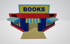3D bookshop