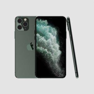 3D iphone 11 pro model