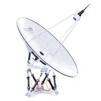 Satelite Dish on Hexapod Platform
