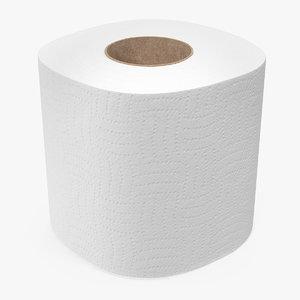 toilet paper roll 3D model