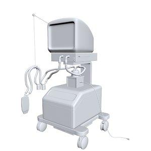 icu 3D model