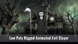 3D model evil animations