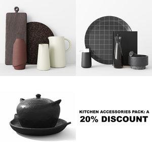 kitchen accessories model