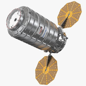 iss module cygnus enhanced 3D model