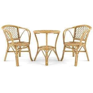 3D set garden furniture