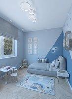 Playful childrens room