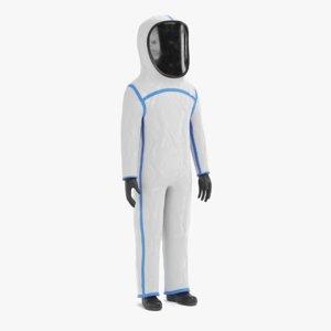 protective suit 3D model