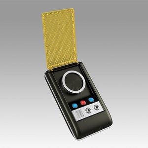 star light communicator 3D model
