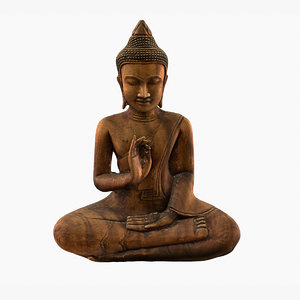 real-time buddha 3D model