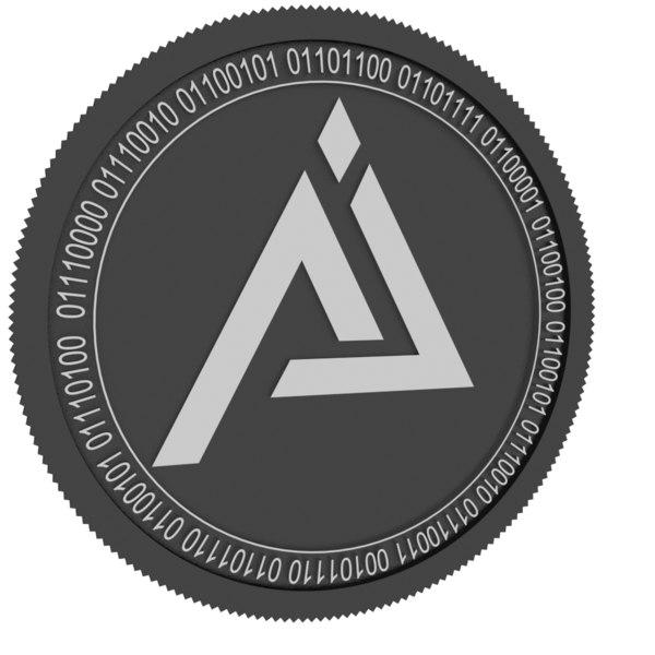 3D ienetchain black coin