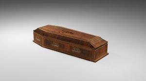 3D coffin old model
