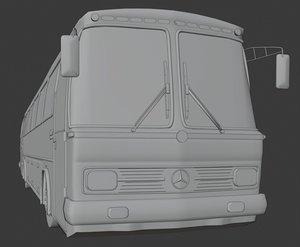3D model retro mercedes benz 302
