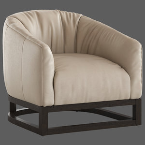 coco republic heston tub chair 3D model