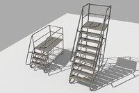 Industrial Warehouse Stair