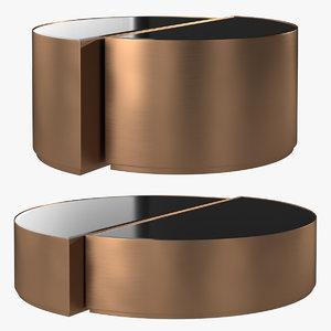 eichholtz coffee table astra 3D model
