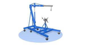 3D crane o model