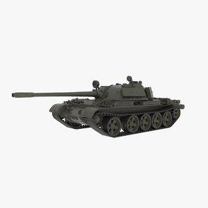 3D model t-55 war
