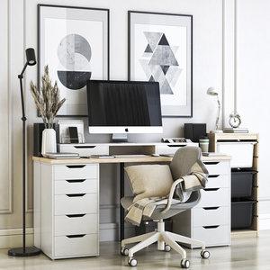 office alex linnmon 3D model