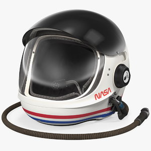 nasa launch entry helmet 3D