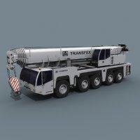 Your Wheeled Crane 200 t animated crane