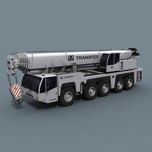 3D wheeled crane - 200