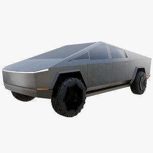 cybertruck truck 3D model
