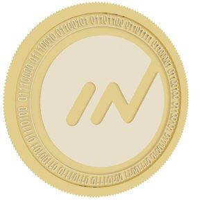innova gold coin 3D model