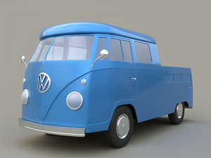 volkswagen transporter t2 3D model