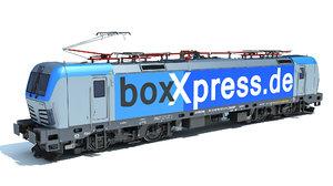 3D model siemens vectron locomotive