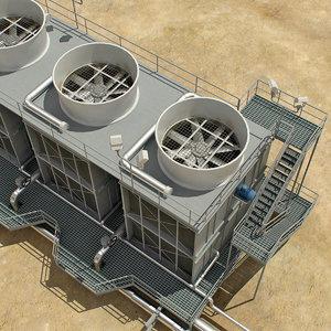 air roof unit 3d max