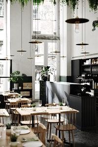 restaurant renders decor interior 3D model