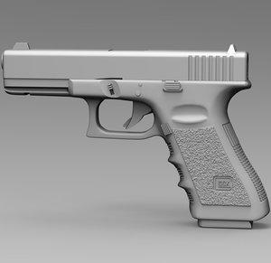 glock 17 gen3 3D model
