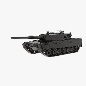 leopard 2a4 model