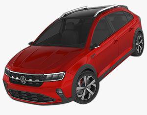 3D volkswagen nivus car model