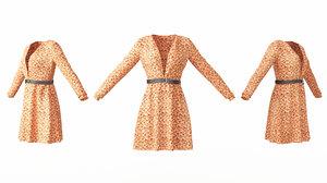 female clothing 05 3D model