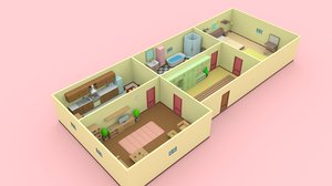 house interior pack - 3D
