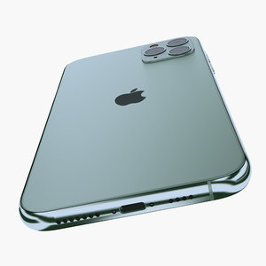 iphone 11 apple 3D model