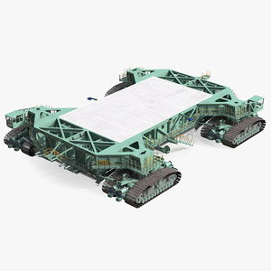 mobile launcher platform crawler 3D model