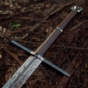 3D steel witcher sword