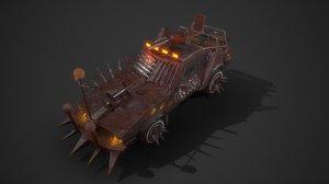 battle car 02 model